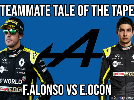 Teammate Tale of the Tape - Alonso vs Ocon at Alpine