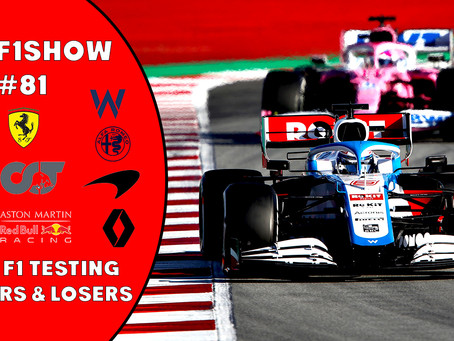 TBMF1Show New Podcast - Winners & Losers of 2020 F1 Testing
