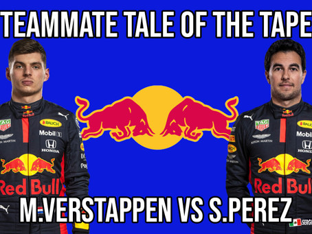 Teammate Tale of the Tape - Verstappen vs Perez at Red Bull