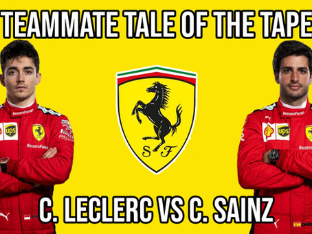 Teammate Tale of the Tape - Leclerc vs Sainz at Ferrari