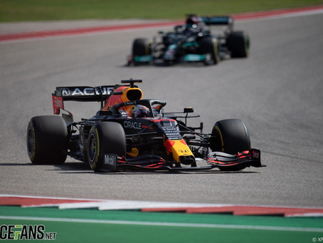 US GP Win Further Proves Verstappen is on Hamilton's Level of Driving Ability