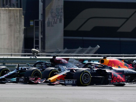 Hamilton's Lunge on Verstappen a Dangerous Move Worthy of a Harsher Penalty?