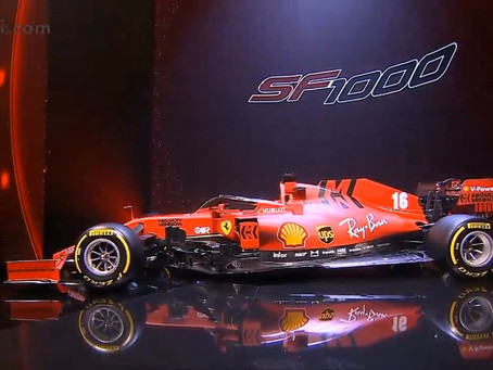 Ferrari launch the 'SF1000' to kick off the 2020 season