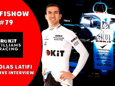 TBMF1Show talks with Williams F1 driver Nicholas Latifi