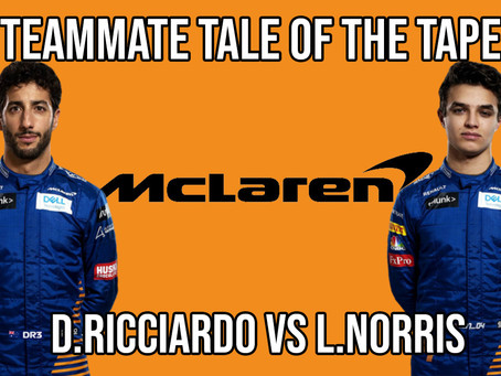 Teammate Tale of the Tape - Ricciardo vs Norris at McLaren