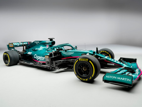Aston Martin Absolutely Delivered on the Hype of their F1 Car Launch