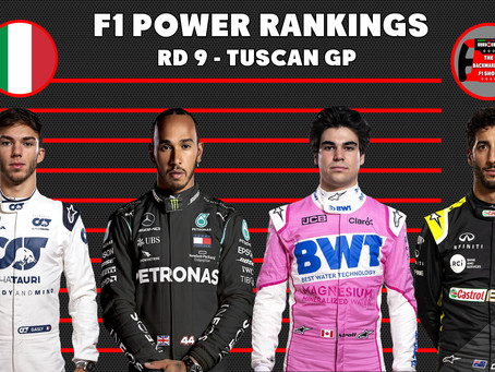 F1 Power Rankings Post Tuscan Grand Prix