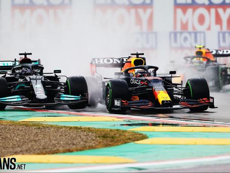 Are Hamilton/Mercedes Already Feeling the Pressure from Verstappen & Red Bull?