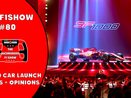 TBMF1Show New Podcast - 2020 F1 Car Launch Reviews and Reacts