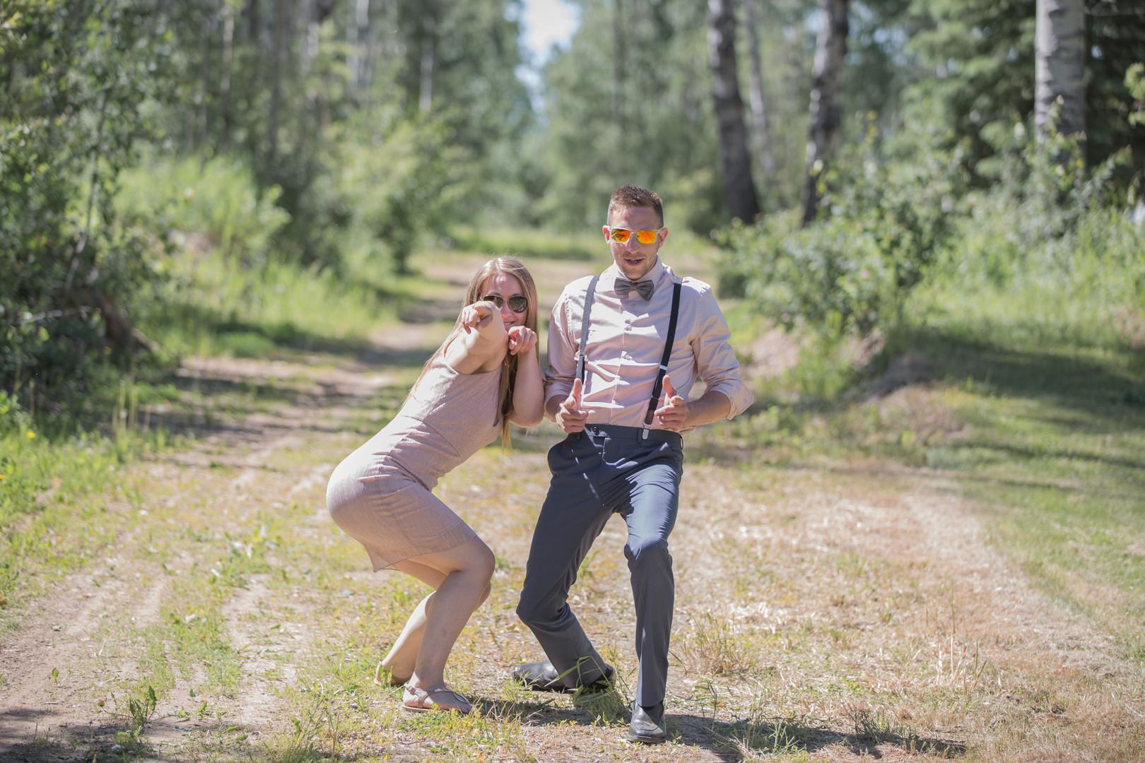 Trevor and Natasha By Isert's Originals-