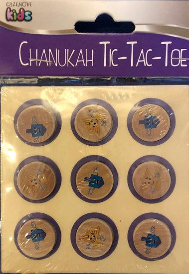Chanukah tic-tac-toe game