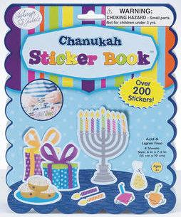 Chanukah Sticker Book. Ages 3+