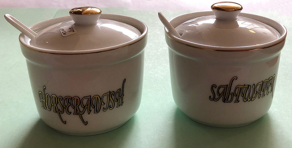 Saltwater and Horseradish Set