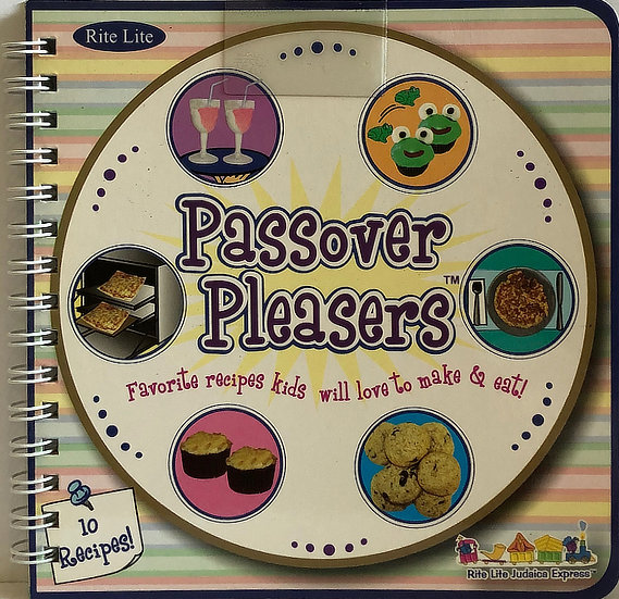 Passover Pleasers Recipe Book for Kids