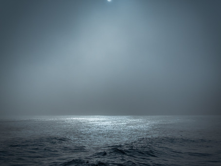 Illuminated Sea