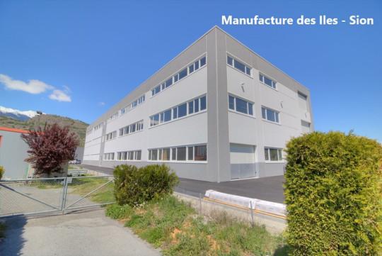 Manufacture des Iles - Sion