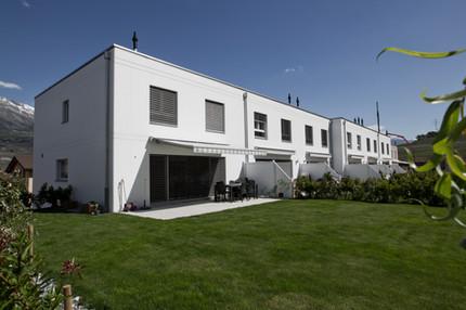 Ancolies villas jumelles Bramois