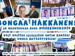 BONGAA HÄKKÄNEN! -kisa käynnistyy!