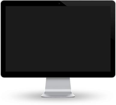Computer Monitor displaying ClearView Tracking's GPS tracking portal
