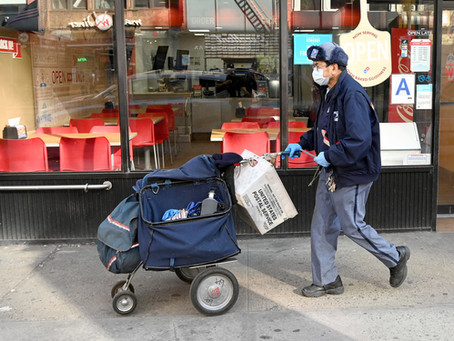 Postal Workers Say They Lack Supplies, Training To Protect Themselves From Virus