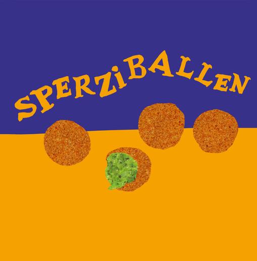 bitterballen met spinazie-aspergevulling