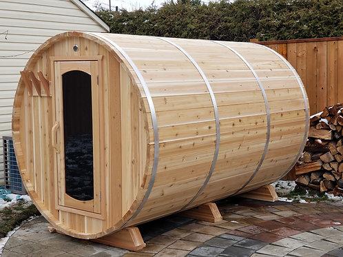 Sauna Boréal Traditionnel - 9 pieds