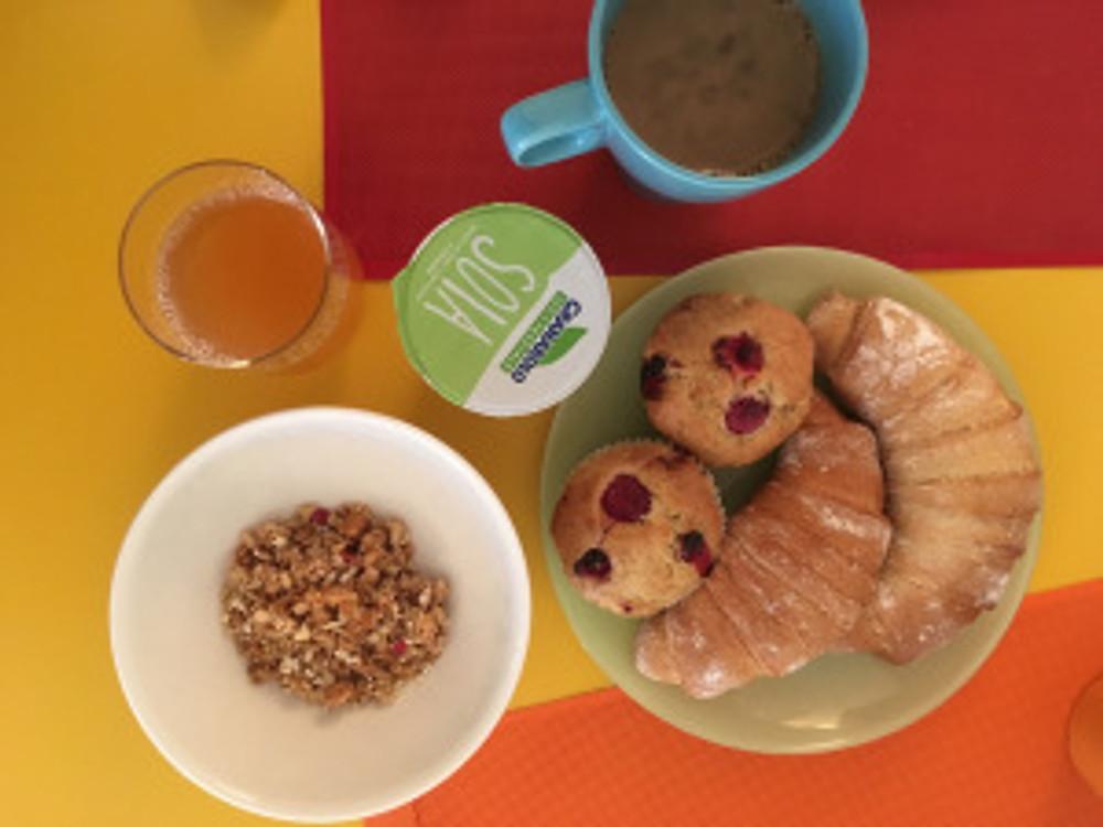het vegan ontbijt