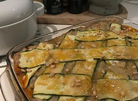 super courgette lasagne