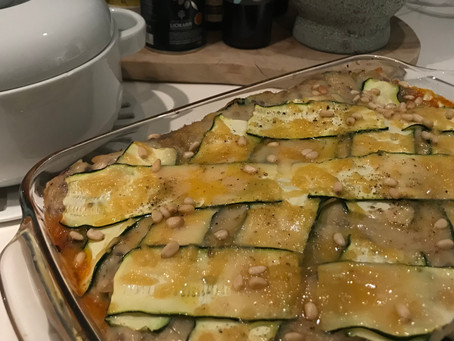 super courgette lasagne