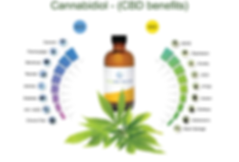 CBD Oil Benefits Chart