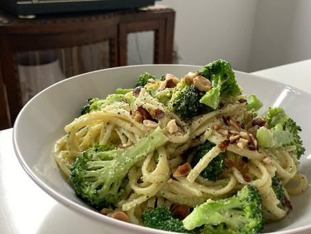 pasta. met heel veel broccoli!