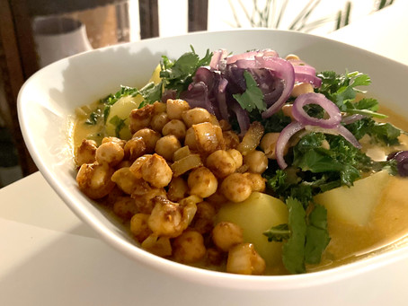 curry met boerenkool (spinazie mag ook!)