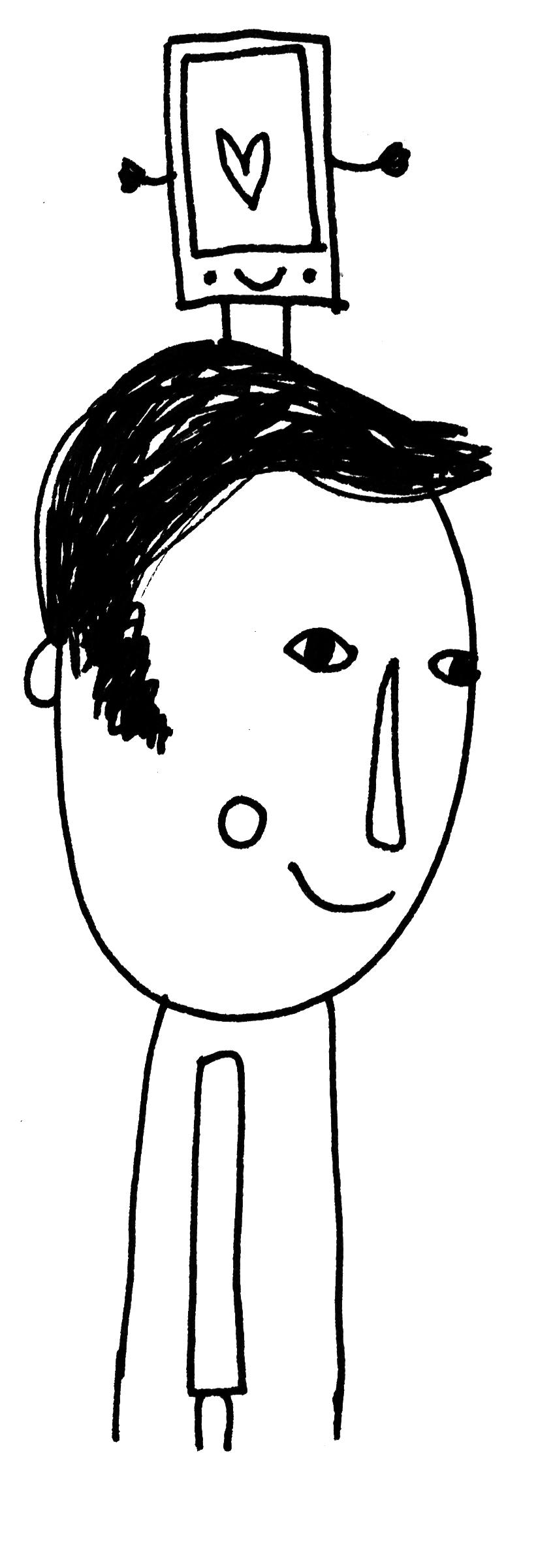 illustratie boek voor mannen