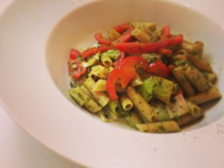 pasta met 'mijn' pesto