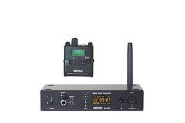 """MI-58R Taschenempfänger Der Taschenempfänger MI-58R bietet verschiedene Abhörmöglichkeiten, wie Stereo-, Mono- oder Mix-Mode an und der Nutzer kann seine bevorzugte Klangfarbe mit dem integrierten EQ einstellen. Über den 3,5 mm Klinkenausgang liefert der Taschenempfänger links und rechts 120 mW Leistung an 16 Ohm. •sehr kompaktes, leichtes, Kunststoffgehäuse •LCD Display zeigt Audiopegel, Batteriestand, HF Signalpegel •Funktionsmenue: Group-Channel-ID, AF Mode (Stereo-Mix), Balance, Equalizer, Lock-Unlock, ENG-Mode •Ohrhörerausgang: 3,5 mm Stereoklinke •Stromversorgung mit1 x ICR18500 Li-ionen Akku  MI-58T Stationärer Digitaler Stereosender Der Stereosender MI-58T ist mit einem leuchtenden OLED Display ausgestattet damit man es auch in wenig beleuchteten Umgebungen gut ablesen kann. Das Funktionsmenue wird über einen Tast-Drehregler gesteuert. Die Frequenzeinstellung am Sender wird per Infrarotsignal mit der ACT-Funktion an den Taschenempfänger übertragen. Zur Einstellung der optimalen Eingangsempfindlichkeit für die Audiosignale hat der MI-58T eine spezielle SLC Funktion, die per LED anzeigt, ob der optimale Eingangspegel eingestellt ist.  Das Audiosignal kann direkt am MI-58T über einen 3,5 mm Miniklinken oder einen 6,25 mm Klinkenstecker mit einem Kopfhörer abgehört werden.  Über die RJ-11 Buchsten kann der MI-58T optional über PC oder Netwerkinterface, auch per Handy oder Tablet, ferngesteuert werden. Die professionelle Variante des MI-58T ist mit einem DANTE-Interface ausgestattet und erlaubt somit das direkte Einspielen digitaler Audiosignale. •Standard Rackgehäuse 1/2 19"""" 1 HE, Metall •OLED für Funktionsmenue, LED für Eingangspegel. •OLED Display zeigt: Audiopegel, Kanal Nr. - Kanal-ID, Stereo- Mono- Mix Mode, HF Signalpegel •Einstellung Audioeingangsempfindlichkeit •Monitor-Kopfhörerausgang mit Lautstärkeregelung •Tast-Drehregler zur Menueführung"""
