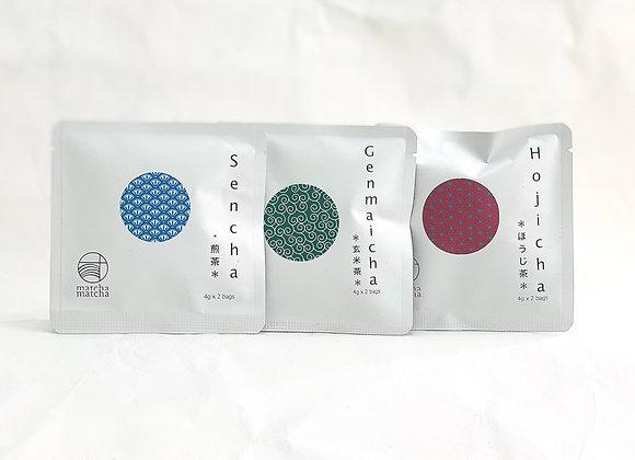 Japanese tea range