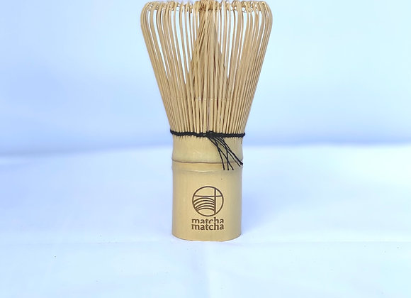 Traditional Bamboo Whisk (white)