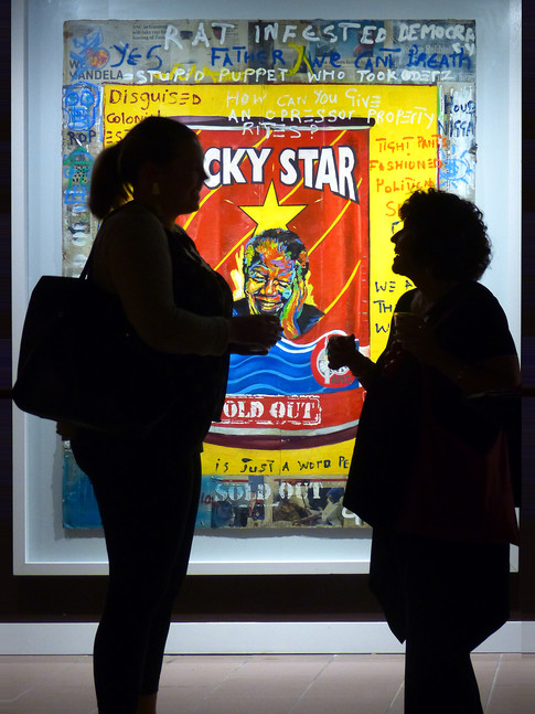Lucky Star at the DuSable Museum