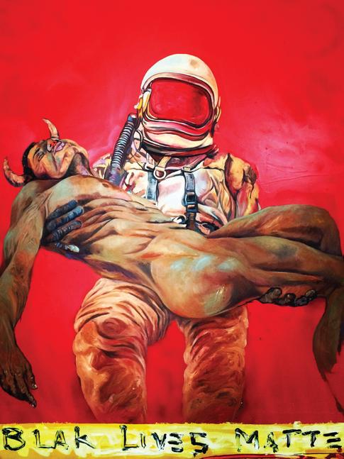 Blak Lives Matter / The Afronaut
