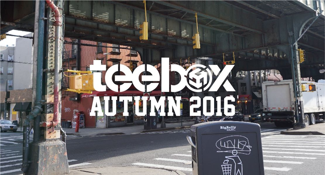 【Teebox Autumn16 - 火熱上市】