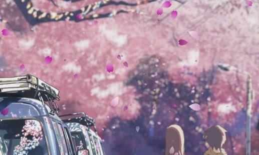 「呐,你知道嗎?聽說櫻花飄落的速度是秒速五厘米哦。 」 -秒速五厘米
