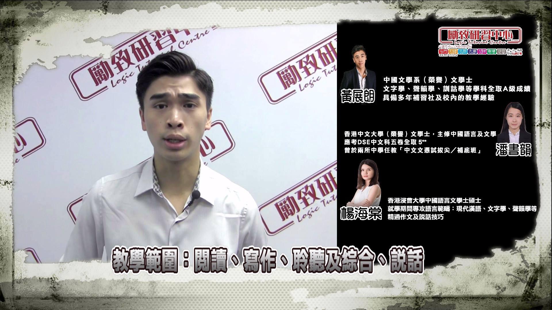 DSE中文科宣傳