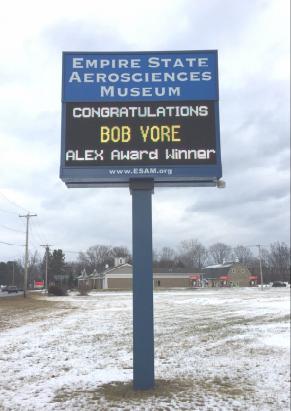 """Bob Vore Receives """"Alex"""" Award"""