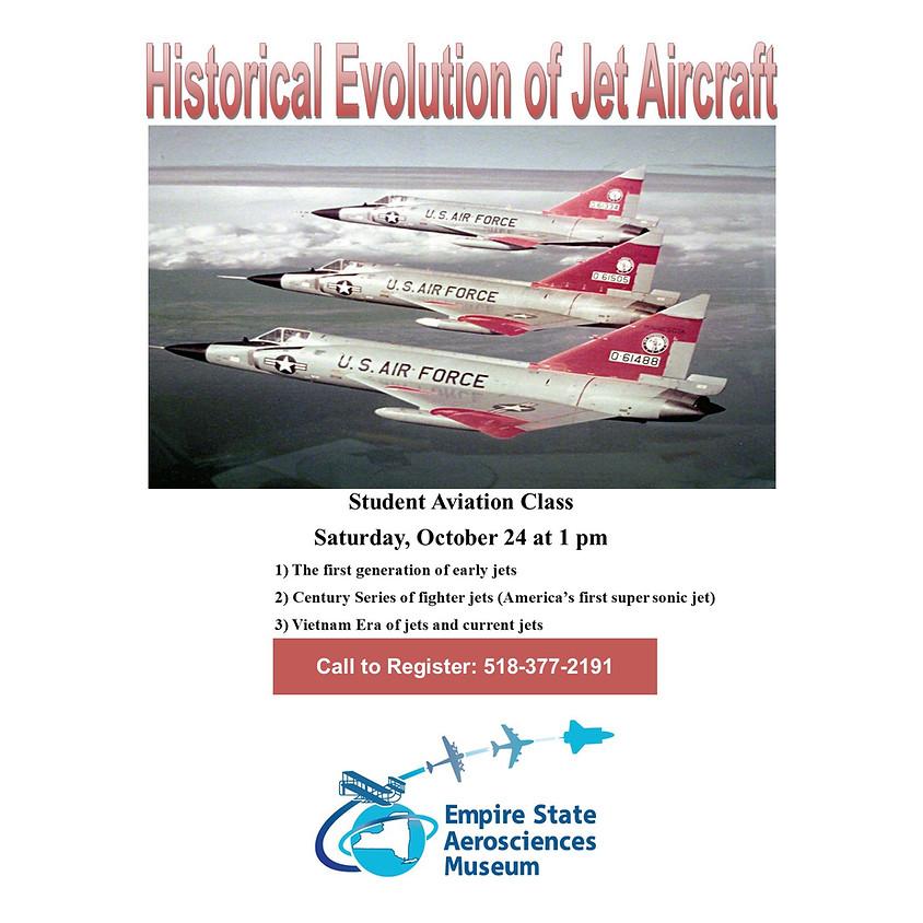 Historical Evolution of Jet Aircraft