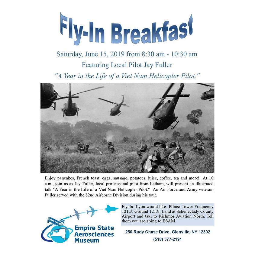 ESAM Fly-in Breakfast Featuring Local Pilot Jay Fuller