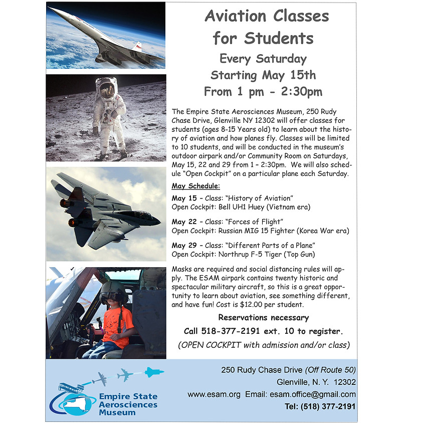 Aviation Classes for Students