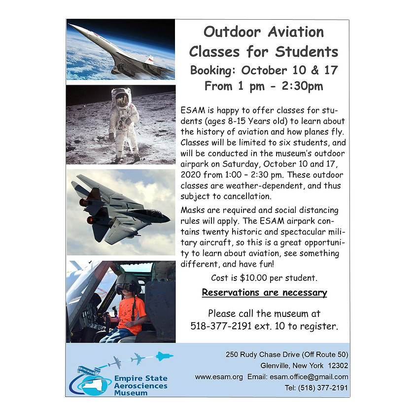 Outdoor Aviation Classes for Students