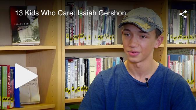 ESAM Volunteer Isaiah Gershon