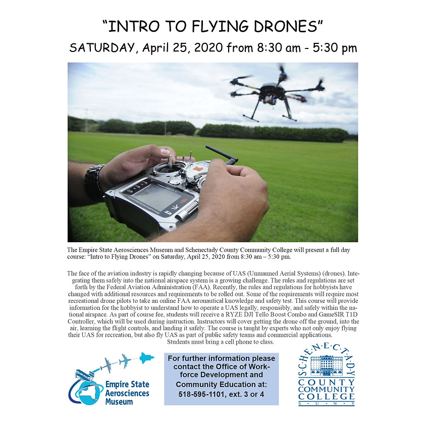 Intro to Flying Drones