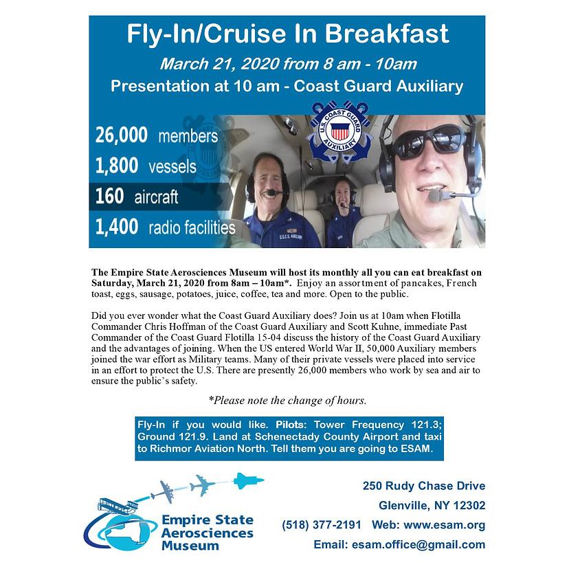 ESAM Fly in Breakfast/Presentation - Coast Guard Auxiliary